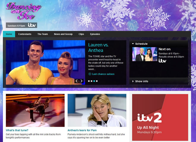 Dancing on Ice abroad screen shot
