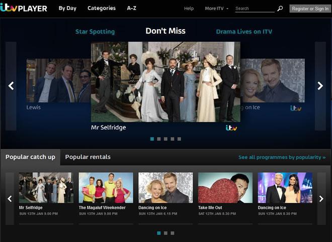 Watch ITV Hub Outside UK with Unlocator