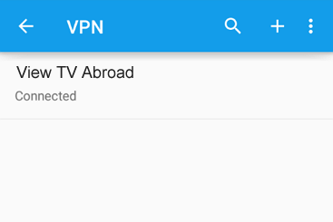 Android VPN set up guide for View TV Abroad