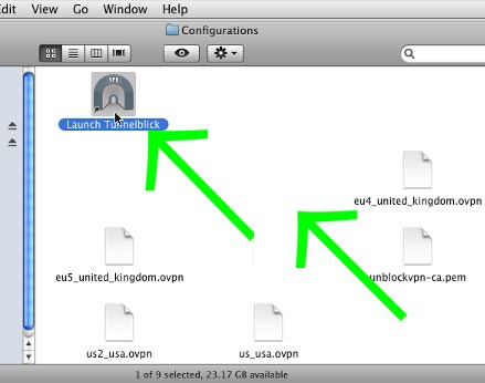MAC OpenVPN set up guide for View TV Abroad